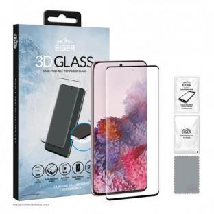 Eiger Samsung Galaxy S20 FE 3D Glass Display Schutzglas mit Rahmen Schwarz (EGSP00667)