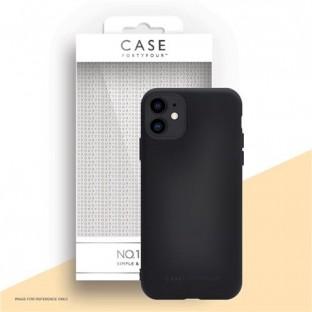 Case 44 Silikon Backcover für iPhone 12 Mini Schwarz (CFFCA0461)