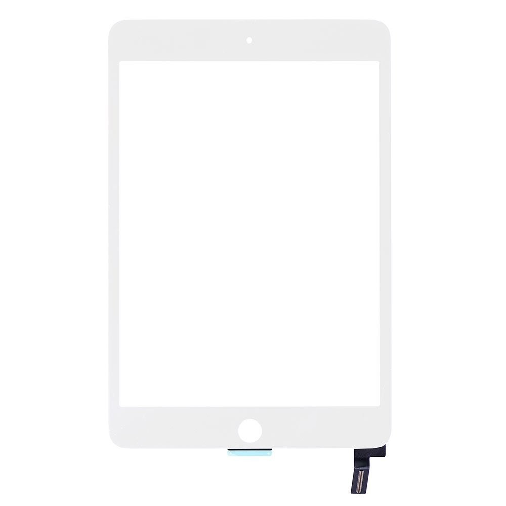 iPad Mini 4 Touchscreen Glas Digitizer Weiss
