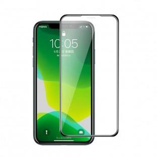9D Display Schutzglas mit Rahmen für iPhone 12 / iPhone 12 Pro