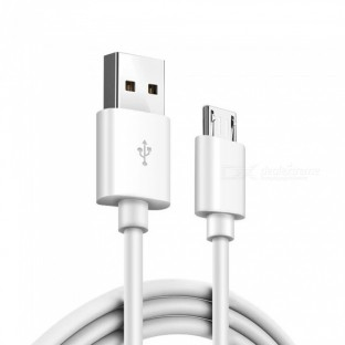Micro USB Kabel 1m Weiss