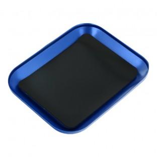 Magnetische Platte für die Lagerung von Schrauben