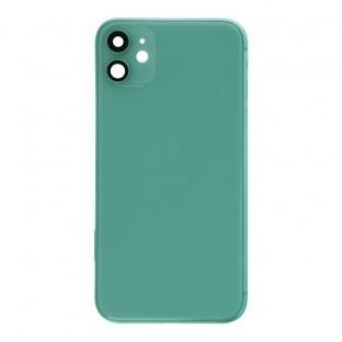 iPhone 11 Backcover / Rückschale mit Rahmen und Kleinteilen vormontiert Grün (A2111, A2221, A2223)