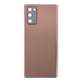 Samsung Galaxy Note 20 / Note 20 5G back cover battery cover back shell gold with camera lens and adhesive