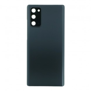 Samsung Galaxy Note 20 / Note 20 5G Backcover Battery Cover Back Shell Grey with Camera Lens and Adhesive