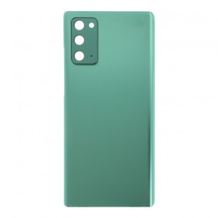 Samsung Galaxy Note 20 / Note 20 5G Backcover Battery Cover Back Shell Green with Camera Lens and Adhesive