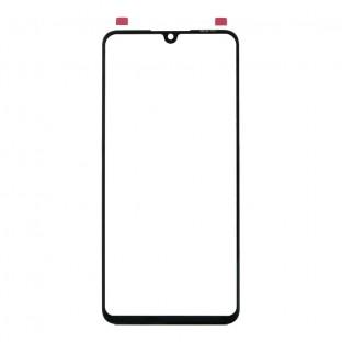 Glas mit Rahmen für Huawei P30 Lite / Nova 4e Schwarz