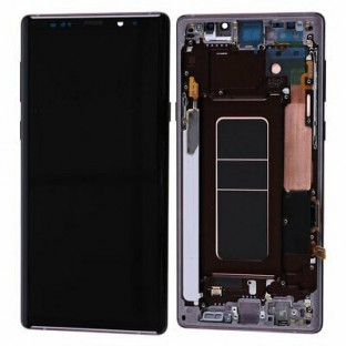 Samsung Galaxy Note 9 LCD Digitizer Replacement Display + Frame Preassembled Copper