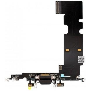 iPhone 8 Plus Lightning Connector Schwarz (A1864, A1897, A1898)