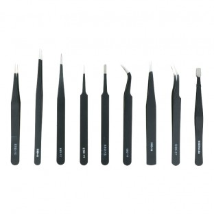 9 in 1 Pinzetten-Set für die Smartphone und Tablet Reparatur