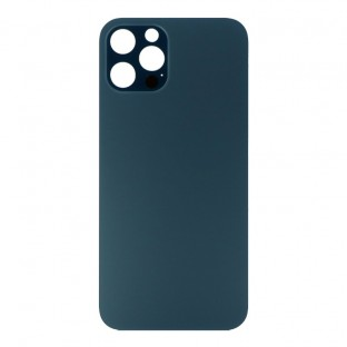 """iPhone 12 Pro Backcover Battery Cover Back Shell Blue """"Big Hole"""" (A2341, A2406, A2408)"""