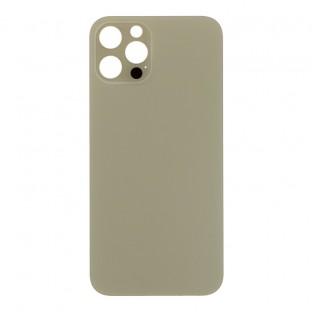 "iPhone 12 Pro Backcover Akkudeckel Rückschale Gold ""Big Hole"" (A2341, A2406, A2408)"