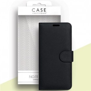 Case 44 foldable case with credit card holder for the Samsung Galaxy A42 Black (CFFCA0533)