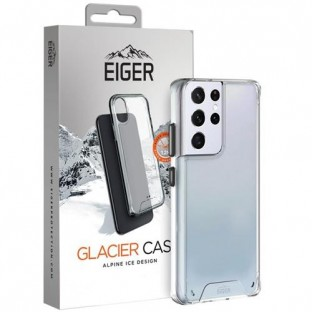 Eiger Samsung Galaxy S21 Ultra Hard Cover Glacier Case transparent (EGCA00287)