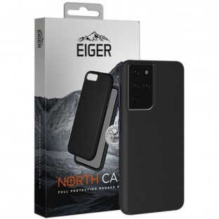 Eiger Galaxy S21 Ultra North Case Premium Hybrid Protective Cover Black (EGCA00293)
