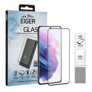 Eiger Samsung Galaxy S21 Plus 3D Glass Display Protection Glass (EGSP00698)