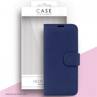 Case 44 foldable case with credit card holder for the Samsung Galaxy S21 Ultra Blue (CFFCA0561)