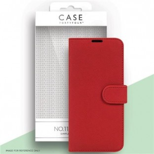 Case 44 foldable case with credit card holder for the Samsung Galaxy S21 Ultra Red (CFFCA0564)