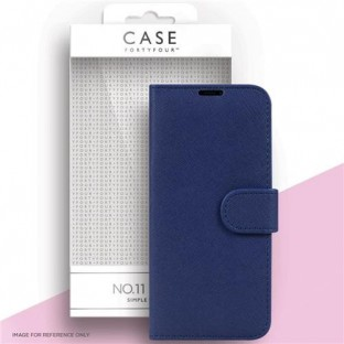 Case 44 foldable case with credit card holder for the Samsung Galaxy S21 Plus Blue (CFFCA0560)
