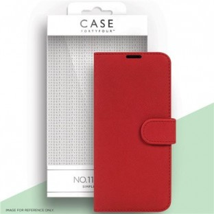 Case 44 foldable case with credit card holder for the Samsung Galaxy S21 Plus Red (CFFCA0563)