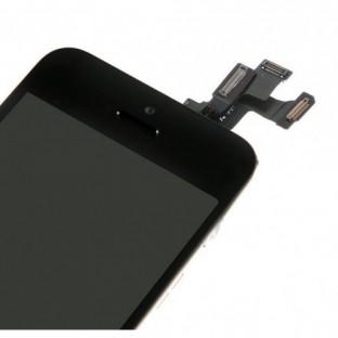 iPhone SE / 5S LCD Digitizer Rahmen Komplettdisplay Schwarz Vormontiert