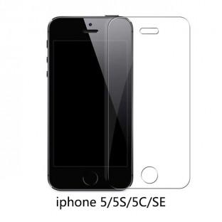 Verre de protection de l'écran pour iPhone 5 / 5S / 5C / SE