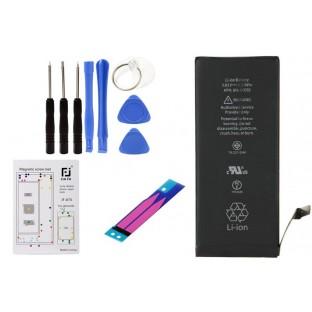 Komplettset: iPhone 6S Akku mit Werkzeugset 8 in 1, magnetische Schraubenhalter-Matte und Adhesive Kleber