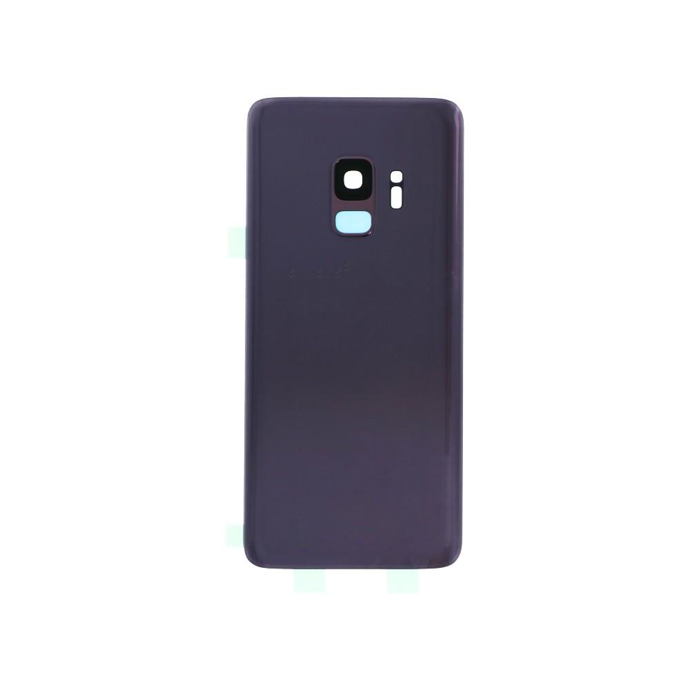Samsung Galaxy S9 Backcover Rückschale mit Kleber und Kamera Linse Lila