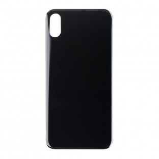 """iPhone Xs Back Cover Battery Cover Back Cover Black / Space Grey """"Big Hole"""" (A1920, A2097, A2098, A2100)"""