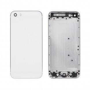 iPhone 5S Backcover Backshell White (A1453, A1457, A1518, A1528, A1530, A1533)