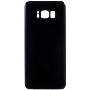 Samsung Galaxy S8 Plus Backcover Rückschale mit Kleber Schwarz