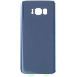 Samsung Galaxy S8 Plus Backcover Rückschale mit Kleber Blau