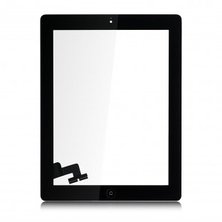 iPad 2 Touchscreen Glass Digitizer Black Pre-Assembled (A1395, A1396, A1397)