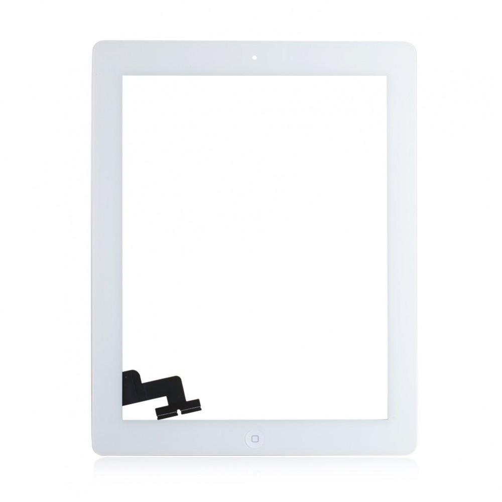 iPad 2 Touchscreen Glas Digitizer OEM Weiss Vormontiert