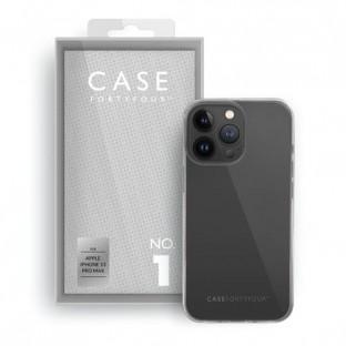 Case 44 Coque en silicone pour iPhone 13 Pro Max Transparent (CFFCA0632)