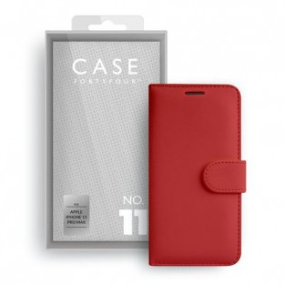 Case 44 foldable case with credit card holder for iPhone 13 Pro Max Red (CFFCA0665)