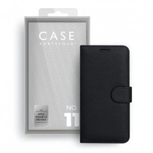 Case 44 foldable case with credit card holder for iPhone 13 Pro Max Black (CFFCA0635)