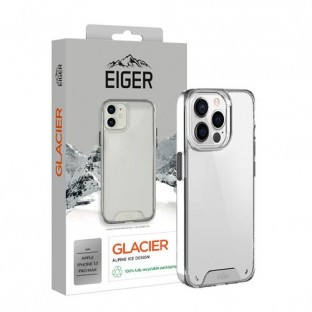 copy of Eiger Apple iPhone 13 Pro Hard Cover Glacier Case transparent (EGCA00332)