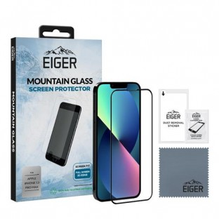 """copy of Eiger Verre d'écran pour Apple iPhone 13 Mini """"3D Glass"""" (EGSP00780)"""