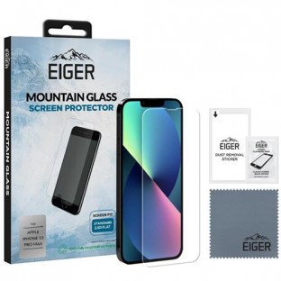 "Eiger Apple iPhone 13 Pro Max Display-Glas ""2.5D Glass"" (EGSP00776)"