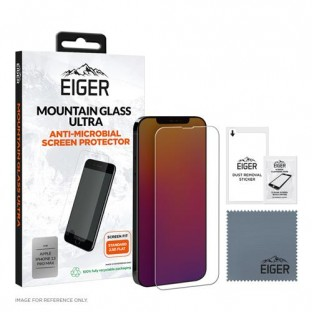 Eiger iPhone 13 Pro Max Mountain Ultra Antibakterieller 2.5D Displayschutz (EGMSP00202)