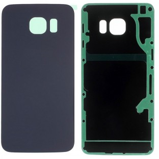 Samsung Galaxy S6 Edge Plus Back Cover Back Shell with Adhesive Black / Blue