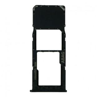Samsung Galaxy A21S Sim Tray Karten Schlitten Adapter Schwarz