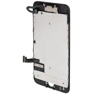 iPhone 7 Plus LCD Digitizer Rahmen Komplettdisplay Schwarz Vormontiert