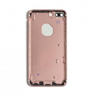 coque arrière pour iPhone 7 Plus or rose (A1661, A1784, A1785, A1786)