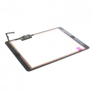iPad Air Touchscreen Glas Digitizer Weiss Vormontiert (A1474, A1475, A1476)