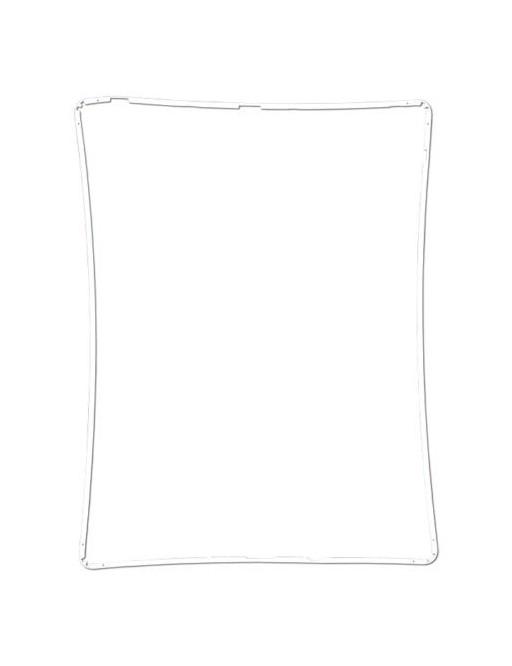 iPad 2/3/4 LCD Digitizer Rahmen Weiss (A1395, A1396, A1397, A1416, A1430, A1403, A1458, A1459, A1460)