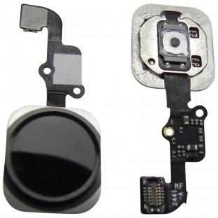 bouton d'accueil iPhone 6 Plus / 6 Noir (A1522, A1524, A1593, A1549, A1586, A1589)