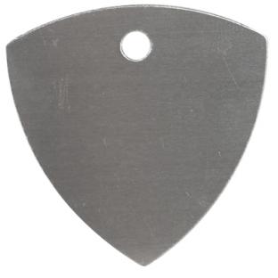 Metal plectrum