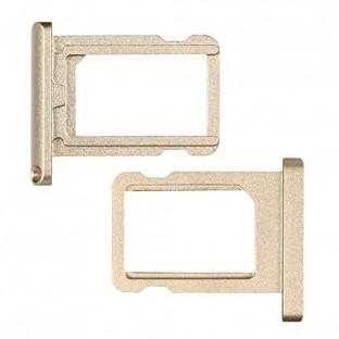 iPhone 6 Sim Tray Karten Schlitten Adapter Gold (A1549, A1586, A1589)